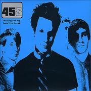 Click here for more info about '45s - Waiting For My Heart To Break'
