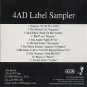 Click here for more info about '4.A.D.  - 4AD Label Sampler'