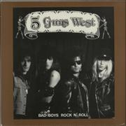 Click here for more info about '5 Guns West - Bad Boys Rock N' Roll'