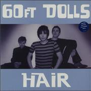 Click here for more info about '60ft Dolls - Hair - Blue Vinyl'