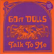 Click here for more info about '60ft Dolls - Talk To Me - Orange Vinyl'