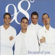 Click here for more info about '98 Degrees - Because Of You'