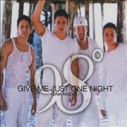 Click here for more info about '98 Degrees - Give Me Just One Night (Una Noche)'