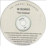 Click here for more info about '98 Degrees - This Christmas'