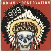 Click here for more info about '999 - Indian Reservation - Clear Vinyl + Sticker'