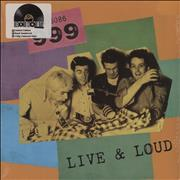 Click here for more info about '999 - Live And Loud!! - RSD17 - Yellow Vinyl + Sealed'