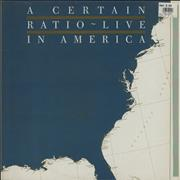 Click here for more info about 'A Certain Ratio - Live In America'