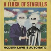 Click here for more info about 'A Flock Of Seagulls - Modern Love Is Automatic'