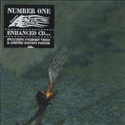 A Number One + Poster UK CD single
