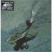 "A Number One - Red Vinyl UK 7"" vinyl"