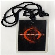 Click here for more info about 'A Perfect Circle - After Show Pass'