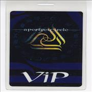 Click here for more info about 'A Perfect Circle - Mer De Noms VIP Tour Pass'