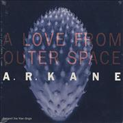 A R Kane A Love From Outer Space USA CD single Promo