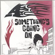 A Something's Going On - 3-track UK CD-R acetate Promo