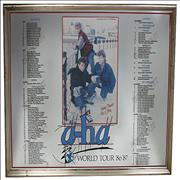Click here for more info about 'A-Ha - 1986/87 World Tour Commemorative Mirror'