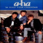 Click here for more info about 'A-Ha - 1988 Half Year Calendar'