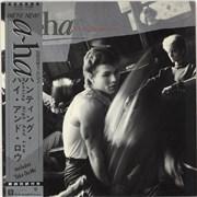 A-Ha Hunting High & Low + Poster Japan vinyl LP