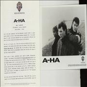 Click here for more info about 'A-Ha - Hunting High And Low - 1986'