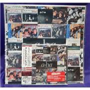 A-Ha Greatest Hits - Japanese Singles Collection + Bonus Print Japan 2-disc CD/DVD set