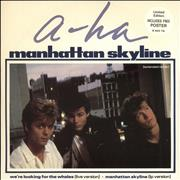 Click here for more info about 'A-Ha - Manhattan Skyline + poster'