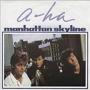 Click here for more info about 'A-Ha - Manhattan Skyline - Poster Sleeve'