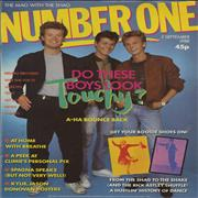 Click here for more info about 'A-Ha - Number One'