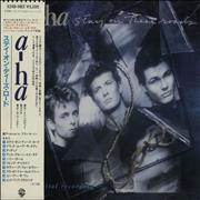 Click here for more info about 'A-Ha - Stay On These Roads Inc Offical Fan Sticker'