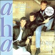Click here for more info about 'A-Ha - The Blood That Moves The Body + Poster'