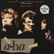 Click here for more info about 'A-Ha - The Sun Always Shines On T.V. - Stickered sleeve'