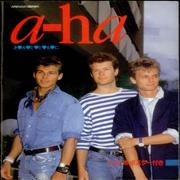 Click here for more info about 'A-Ha - Tour Photo Book + Poster'