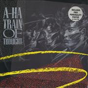 Click here for more info about 'A-Ha - Train Of Thought + Poster'