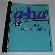 Click here for more info about 'A-Ha - World Tour 1987/8'