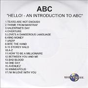 Click here for more info about 'Hello! An Introduction To ABC'