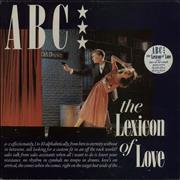 Click here for more info about 'ABC - The Lexicon Of Love - Stickered sleeve'