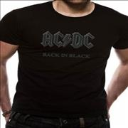 Click here for more info about 'AC/DC - Back In Black T-Shirt - Black [XL]'