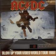 Click here for more info about 'AC/DC - Blow Up Your Video World Tour 1988 + Ticket Stub'