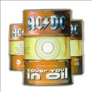 Click here for more info about 'AC/DC - Cover You In Oil - Shaped Disc'