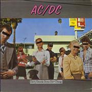 Click here for more info about 'AC/DC - Dirty Deeds Done Dirt Cheap + Insert'