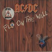 Click here for more info about 'AC/DC - Fly On The Wall - Hype Stickered'
