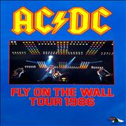 Click here for more info about 'Fly On The Wall Tour 1986 - Autographed'