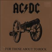 Click here for more info about 'AC/DC - For Those About To Rock We Salute You - EX'