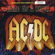 Click here for more info about 'AC/DC - Hard As Rock - Yellow Vinyl'