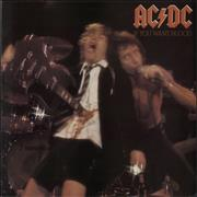 AC/DC If You Want Blood + Insert UK vinyl LP