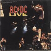 Click here for more info about 'AC/DC - Live + Slipcase, Poster & Dollar Bill'