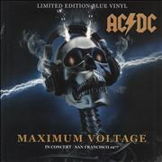 Click here for more info about 'AC/DC - Maximum Voltage - In Concert - San Francisco '77 - Blue Vinyl'