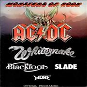 Click here for more info about 'Monsters Of Rock - 1981 Official - Ticket'