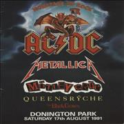 Click here for more info about 'AC/DC - Monsters Of Rock 1991'