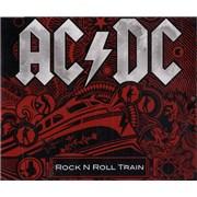 AC/DC Rock N Roll Train UK CD single Promo