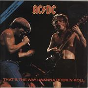 Click here for more info about 'AC/DC - That's The Way I Wanna Rock & Roll'
