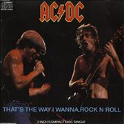 Click here for more info about 'AC/DC - That's The Way I Wanna Rock N Roll'